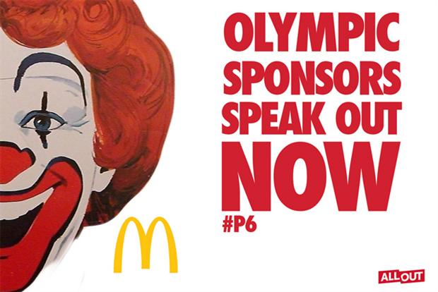 Sochi 2014: most UK social media chatter critical of sponsors Coke, Visa and McDonald's