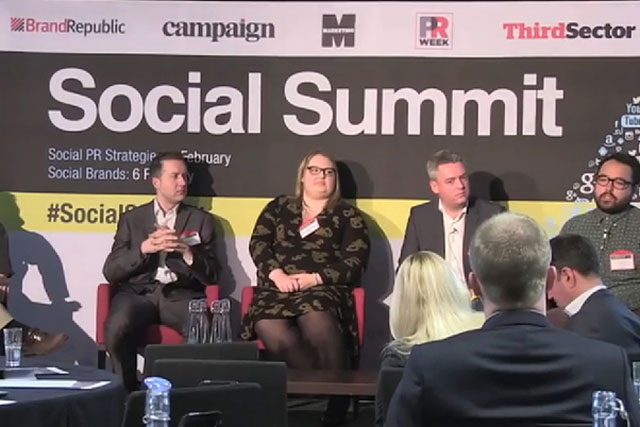 Social Brands: speakers debate issues at the Brand Republic Group event in London
