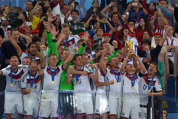 Germany: triumphant at the World Cup final in Rio de Janeiro