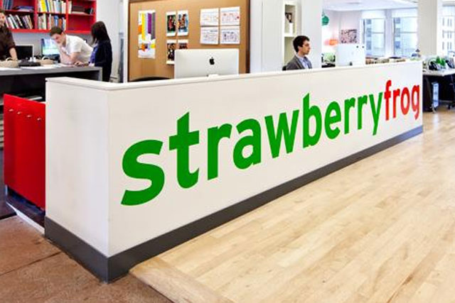 StrawberryFrog: closed its Amsterdam office in November last year