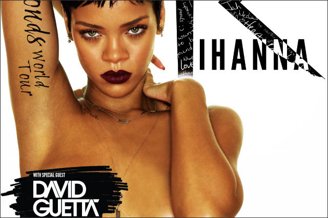 Rihanna: her Live Nation poster ad is cleared by the ASA