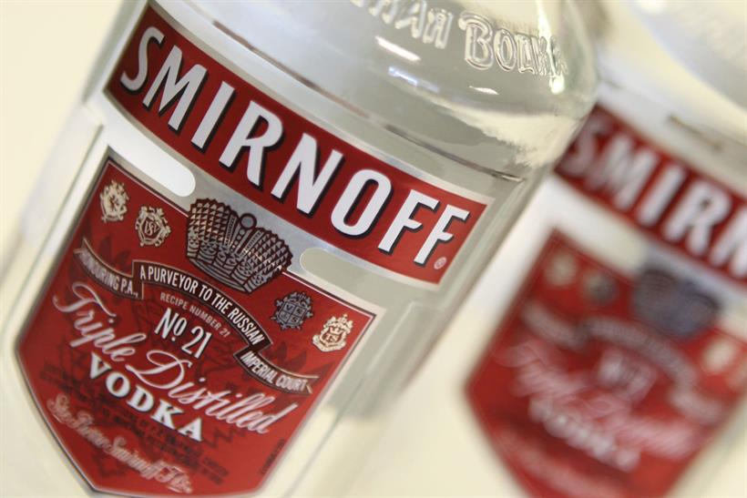 Smirnoff: appoints Mother London for pan-European launch of sub-brand later this year