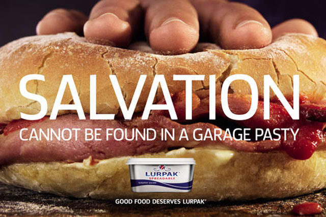 "Lurpak: ""salvation"" campaign"