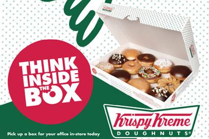 Krispy Kreme: runs first above-the-line work