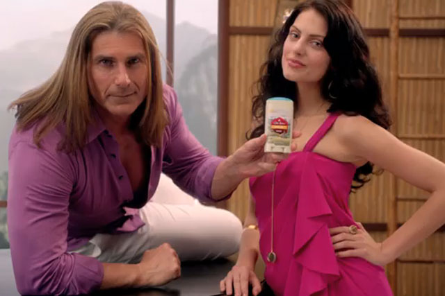 Fabio: becomes the New Old Spice Guy