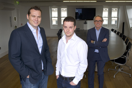 Oliver Bishop, Duncan Parry, Jim Kelly