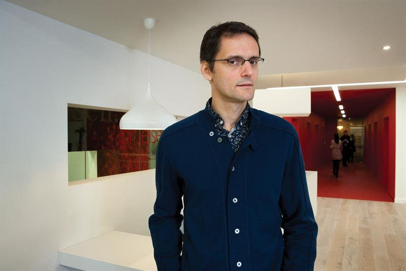 Cooper: the former global ex­ecutive creative director of Wieden & Kennedy spent a year at Apple
