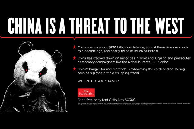 The Economist: latest provocative campaign