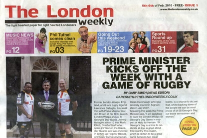 London Weekly: hard to find