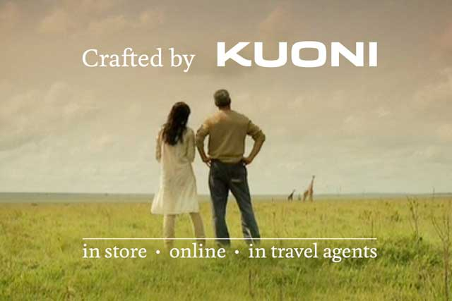 Kuoni: readies TV campaign