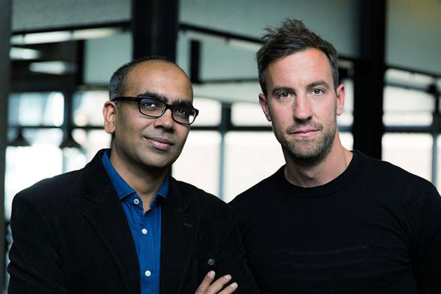 AKQA: India office head Anurag Bhatnagar and chief technology officer Ben Jones