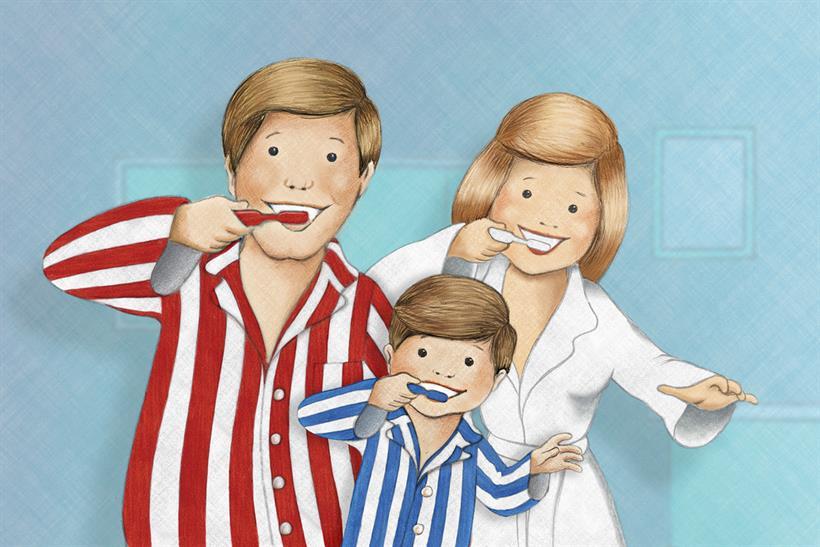 Aquafresh: parent reviews global digital advertising account