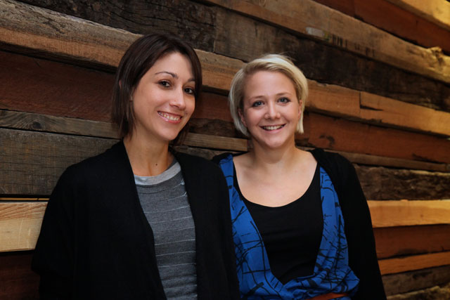 Isobar: Anna Smith (left) joins Katie White in its new social division