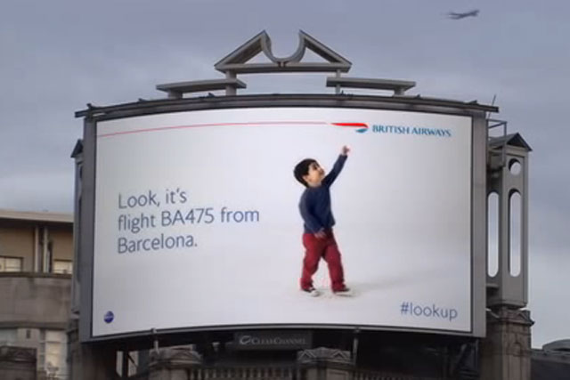 OgilvyOne: 'magic of flying'  campaign for BA wins Direct Lions Grand Prix