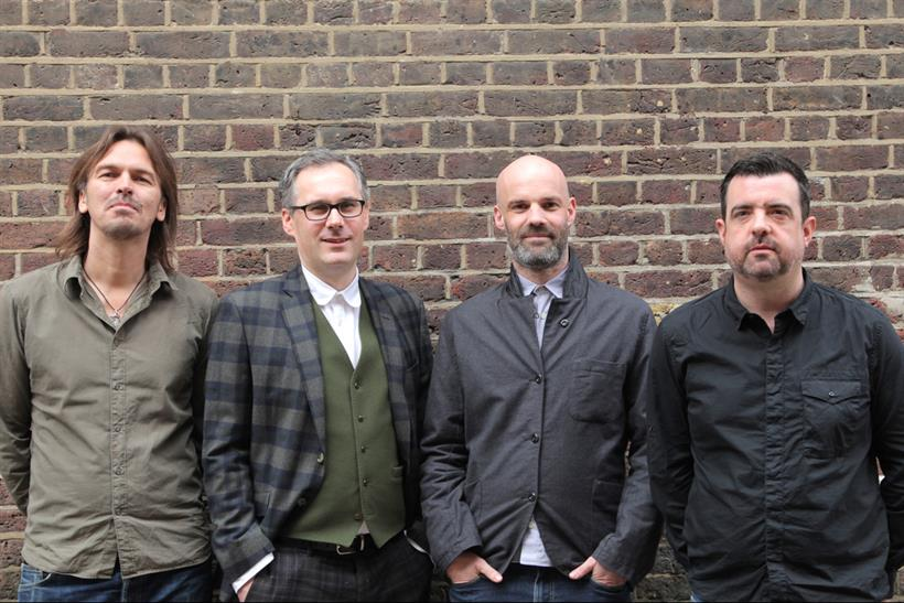 Brothers and Sisters: new management line-up comprises (l-r) Teer, Charlton, Fowler and Brown