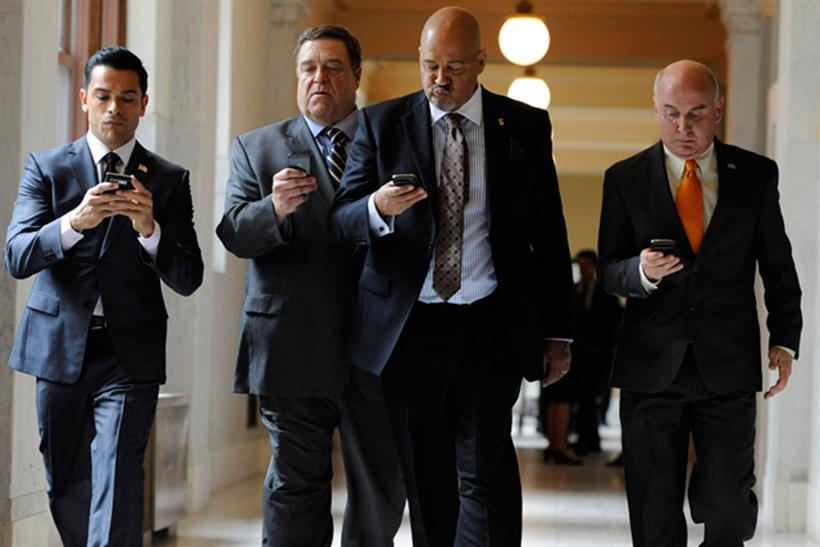 Alpha House: one of 14 pilot shows produced by Amazon Studios