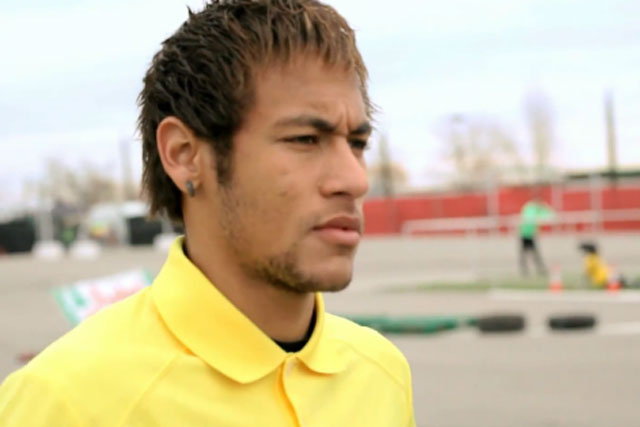 Neymar Jr: takes on Ken Block in Castrol spot