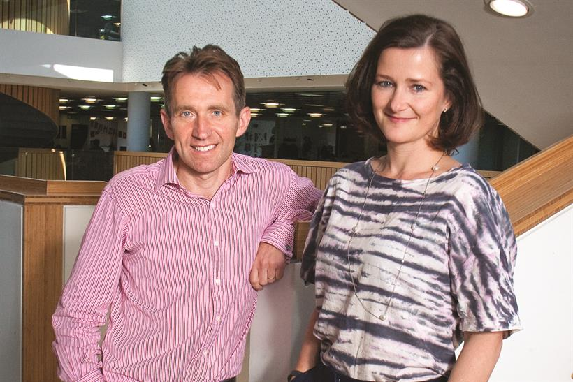 BBH: Exon (r) becomes the managing director as Rudd takes the new role of chief operating officer