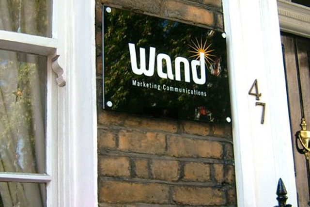Wand: merges into Golley Slater London