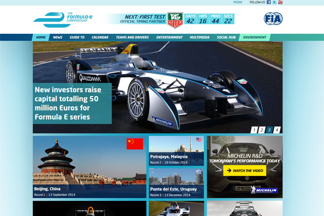 Formula E: on the hunt for a creative agency