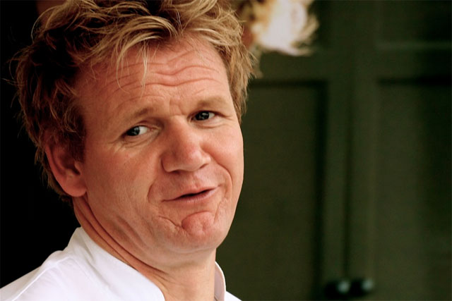 Gordon Ramsay: (photo credit: Dave Pullig)