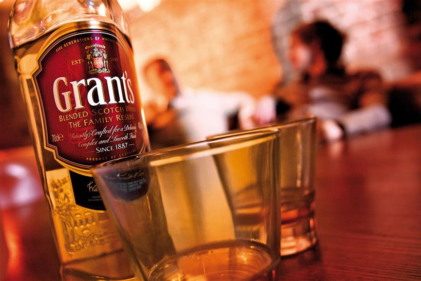 Grant's whisky: hires Inferno to handle its advertising business