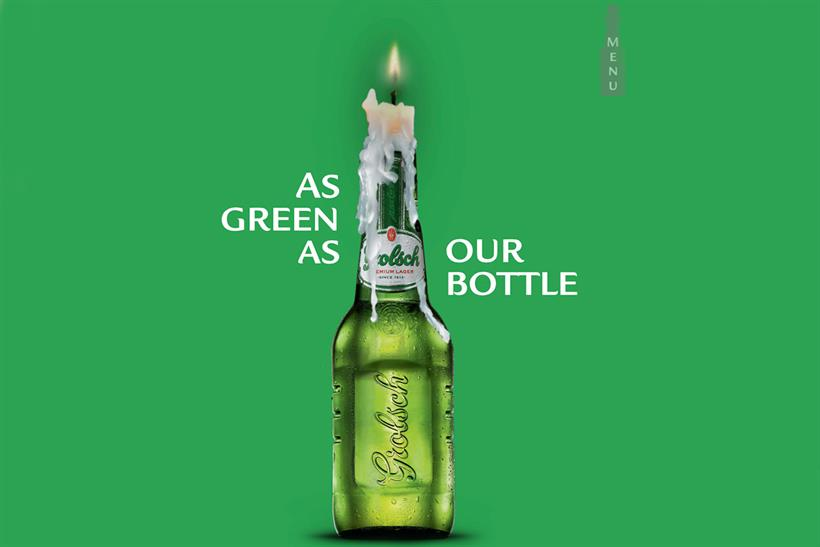 Grolsch: shifts focus to digital