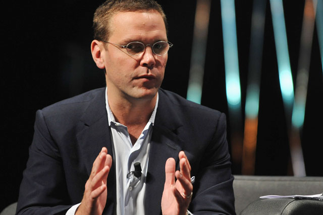 James Murdoch: he and brother Lachlan are promoted at News Corp and 21st Century Fox
