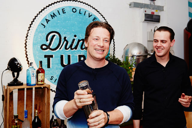 Jamie Oliver: TV chef launches Drinks Tube channel