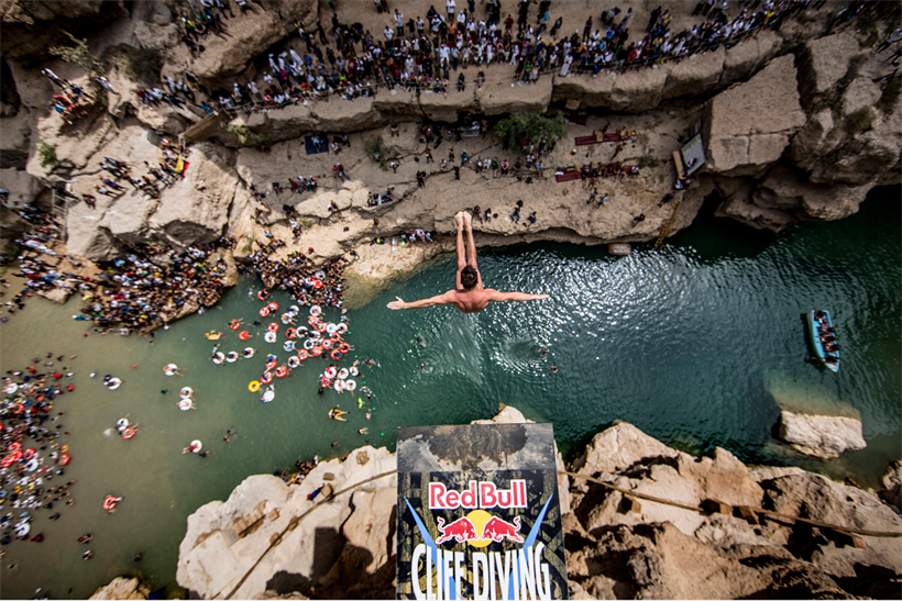Red Bull Cliff Diving: third series commissioned