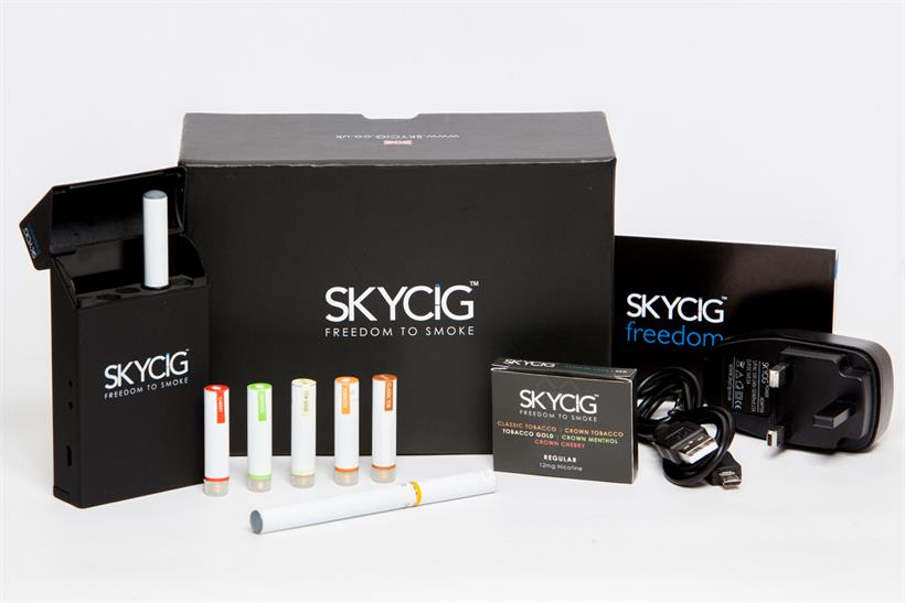 Skycig: electronic cigarette brand seeks agency