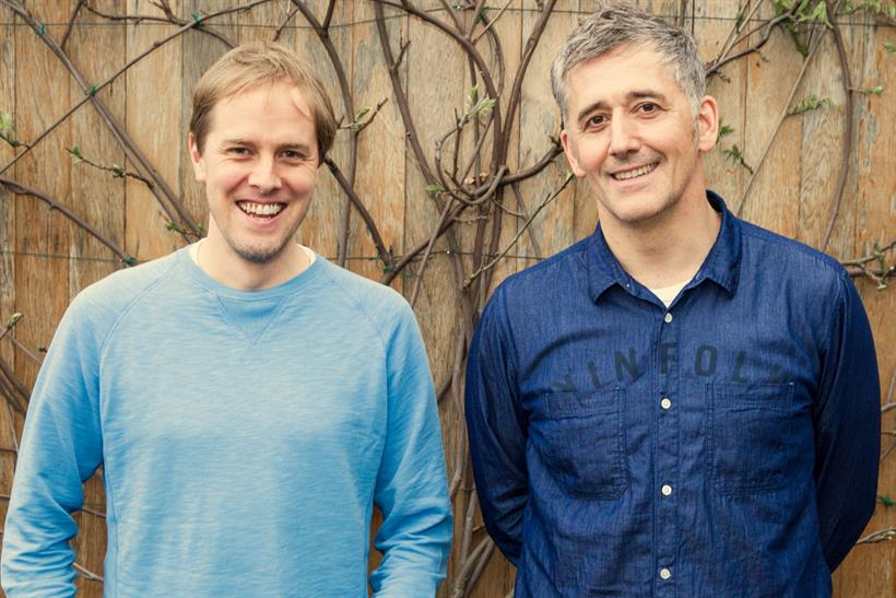 Tait (l) and Davidson: will be co-ECDs at Wieden & Kennedy London when Papworth steps down