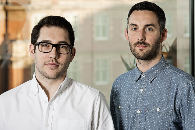 Neil Clarke and Jay Phillips: join AMV as creative directors