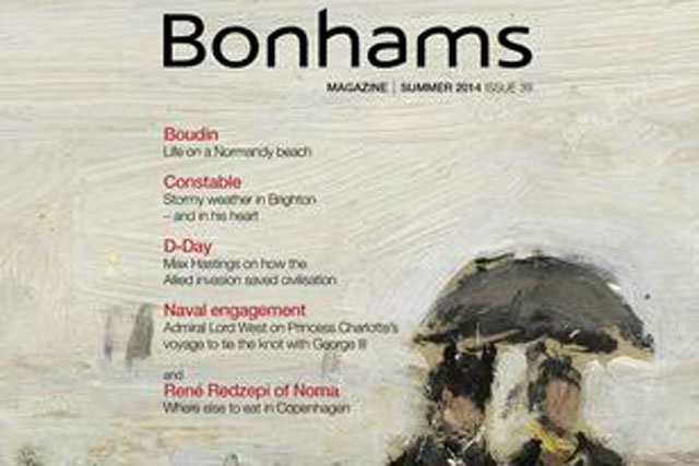 Bonhams: hires Contagious London for digital and social media campaign