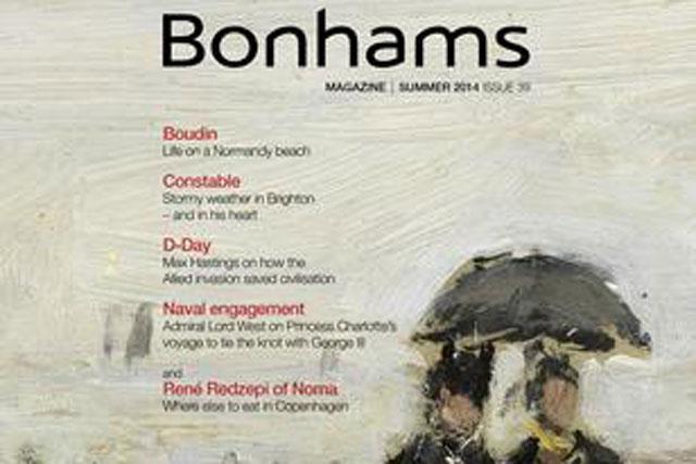 Bonhams: hires Contagious London for digital and social media campaign