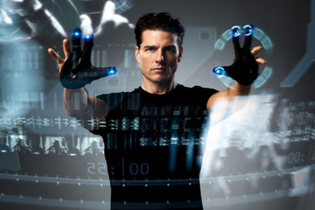 Minority Report: a film illustrating the changing face of cinema