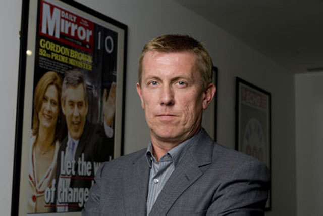 Mark Hollinshead: resigns as chief operating officer of Trinity Mirror