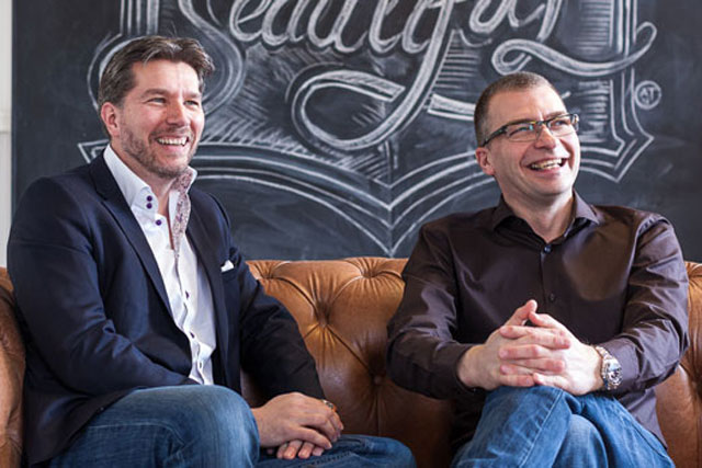 Agency deal: Epiphany group chief executive Rob Shaw and Jaywing chief executive Martin Boddy