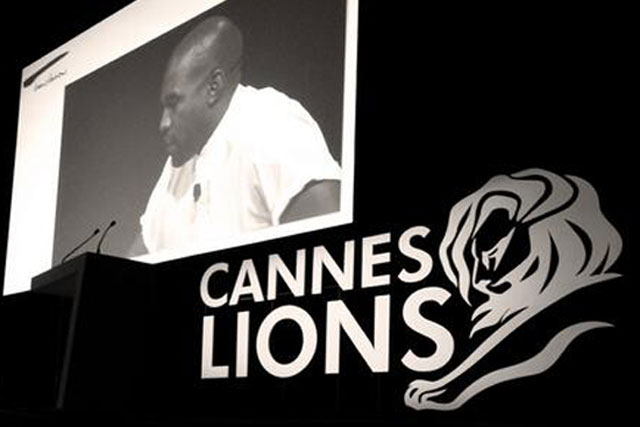 Kanye West: provided colourful quotes at Cannes