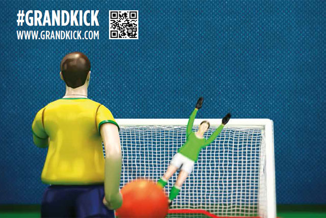 Clear Channel Outdoor: unveils Le Grand Kick interactive game at Cannes Lions
