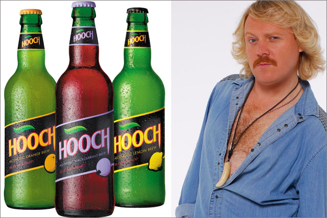 Hooch: comeback campaign is to be fronted by Keith Lemon