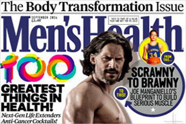 Men's Health: has highest combined print and digital circulation among men's titles
