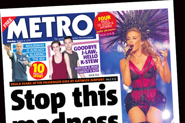 Metro: hires Creative Orchestra to handle its advertising business