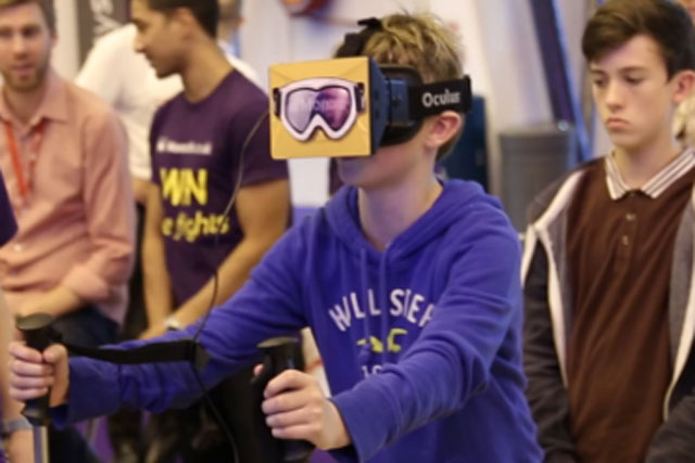 Monarch Airlines: virtual reality campaign created by Tom Bellamy and Alena Mikiasova