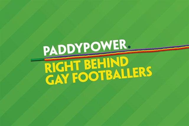Paddy Power: right behind gay footballers campaign created by Lucky Generals