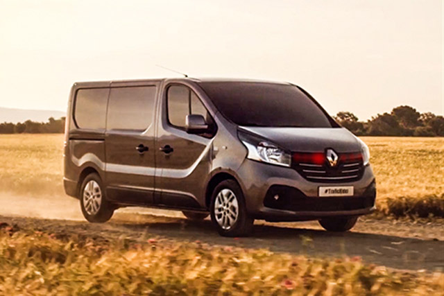 Renault Trafic: untility vehicle launches with Knight Rider-themed campaign