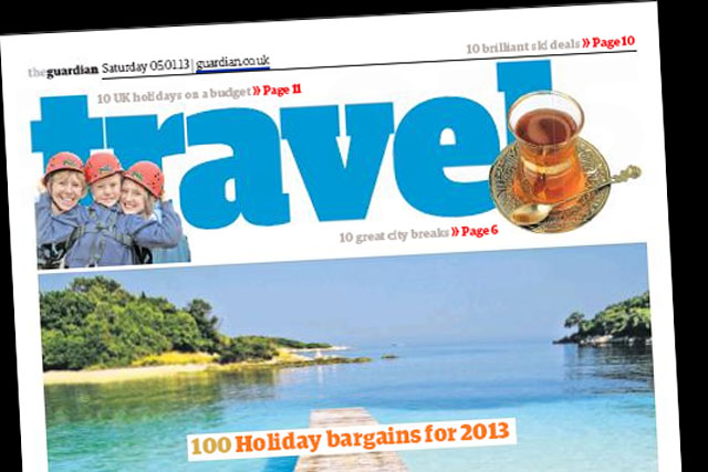 The Guardian: partnering with VisitEngland to promote its travel content