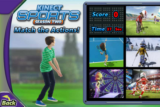 Kinect Sports: launches competition on the Cartoon Network