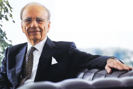 Rupert Murdoch: News Corporation chairman and chief executive