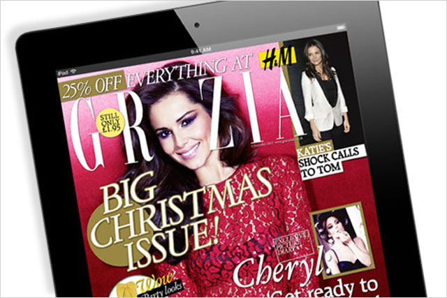Grazia: launches first iPad edition